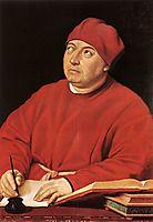 Cardinal Tommaso Inghirami, 1515-1516, raphael