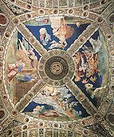 Ceiling, 1513-1514, raphael