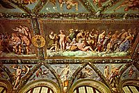 Ceiling of the Loggia of Psyche, 1518, raphael