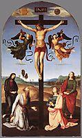 Crucifixion, Città di Castello Altarpiece, 1502-1503, raphael
