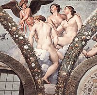 Cupid and the Three Graces, 1517, raphael