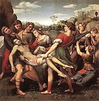 The Deposition , 1507, raphael