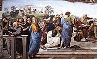Disputation of the Holy Sacrament, La Disputa, detail_11, 1510-1511, raphael