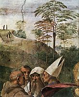 Disputation of the Holy Sacrament, La Disputa, detail_4, 1510-1511, raphael
