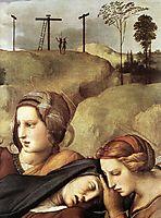 The Entombment, detail, 1507, raphael