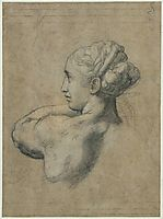 Head of a Woman, 1517-1520, raphael
