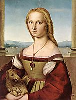 Lady with a Unicorn, 1505, raphael