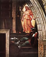 The Liberation of Saint Peter, detail_3, 1514, raphael