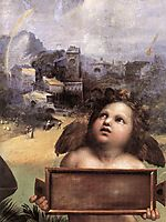 The Madonna of Foligno, detail_1, 1511-1512, raphael