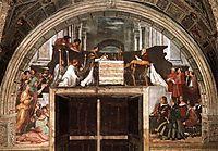 The Mass at Bolsena, 1512, raphael