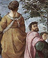 The Parnassus, detail_6, 1509-1510, raphael