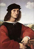 Portrait of Agnolo Doni, 1506, raphael
