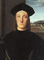 Portrait of Guidobaldo da Montefeltro, Duke of Urbino, raphael