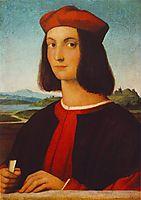 Portrait of Pietro Bembo, 1504, raphael