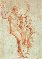Psyche Offering Venus the Water of Styx, 1517, raphael