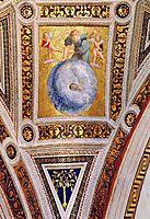 The Saintanza della Segnatura Ceiling, Prime Mover, detail_1, 1509-1511, raphael