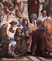 The School of Athens, detail_3, 1509, raphael