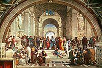 The School of Athens, 1511, raphael