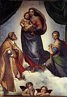 The Sistine Madonna, 1505, raphael