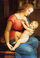 The Virgin of the House of Orleans, 1506, raphael