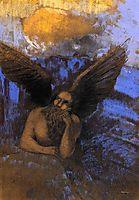 Aged Angel, c.1903, redon