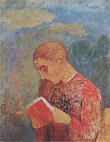 Alsace or reading monk, redon