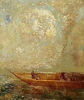 A boat, c.1901, redon