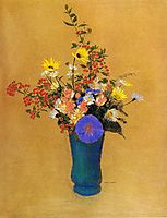 Bouquet of Wild Flowers, c.1910, redon