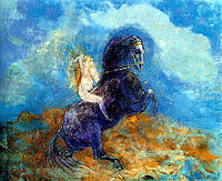 Brunhild (The Valkyrie), redon