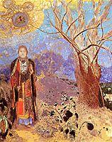 The Buddha, c.1905, redon
