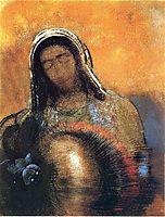 Buddha, c.1906, redon