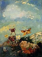Butterflies, redon