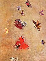 Butterflies, 1913, redon