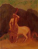 Centaur with Cello, 1910, redon