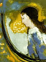 The Child In A Sphere Of Light, redon