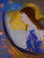 The Child in a Sphere of Light, c.1900, redon