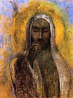 Christ in Silence, c.1897, redon
