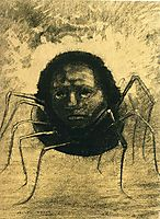 The Crying Spider, 1881, redon