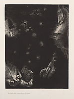 Different peoples inhabit the countries of the Ocean (plate 23), 1896, redon
