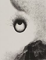 Everywhere eyeballs are aflame, 1888, redon