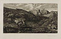Fear, 1866, redon
