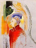 A Figure , c.1905, redon