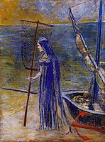 The Fisherwoman, 1900, redon