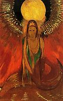 The Flame (Goddess of Fire), 1896, redon