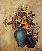 Flowers, c.1905, redon