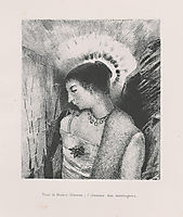 Here is the Good Goddess, the Idaean mother of the mountains (plate 15), 1896, redon