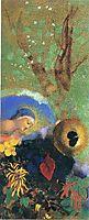 Homage to Leonardo da Vinci, 1908, redon