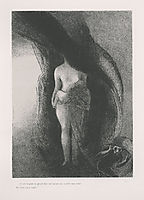 I am still the great Isis! None has yet lifted my veil! My fruit is the Sun! (plate 16), 1896, redon