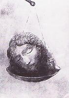 In the balance, c.1880, redon