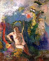 Landscape with Eve, c.1900, redon